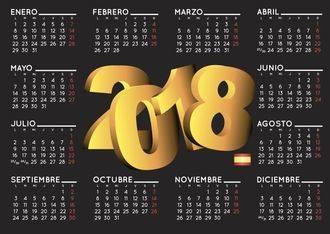 La Junta aprueba el calendario laboral para 2018 : vea los días festivos del año que viene