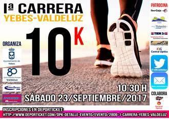 Este sábado se corre en Valdeluz el 10 K más rápido de Guadalajara en un circuito llano y sin obstáculos