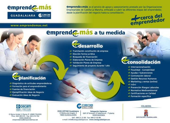 CEOE-CEPYME Guadalajara recuerda a las empresas las líneas de ayudas en vigor