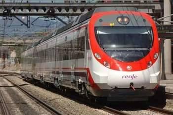 Una persona se lanza a las vías del tren y se producen retrasos en cercanías de Guadalalajara