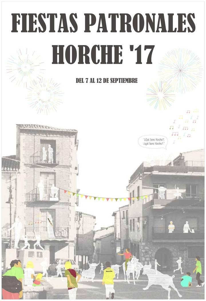 Cerca de un centenar de actividades en las Fiestas patronales de Horche 2017