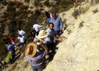 El Geoparque celebra la declaración del Monumento Natural del Estratotipo GSSP de Fuentelsaz