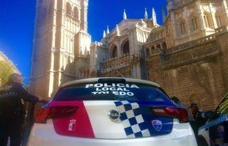 Tres jóvenes detenidos en Toledo tras amenazar con