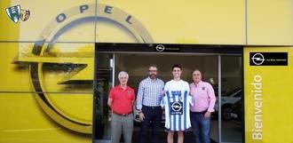 El Hogar Alcarreño presenta a su nuevo jugador, Borja De la Cal