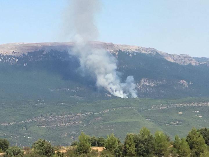 El incendio de Yeste continúa en nivel 2 de emergencia