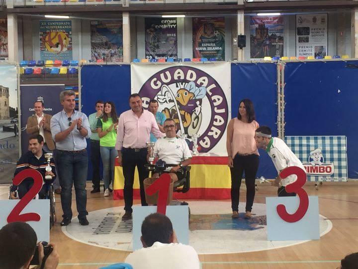 La Diputación participa en la entrega de Trofeos del XII Open Boccia Guadalajara