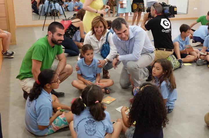 Cerca de 200 niños han disfrutado cada semana del Campamento Urbano Municipal