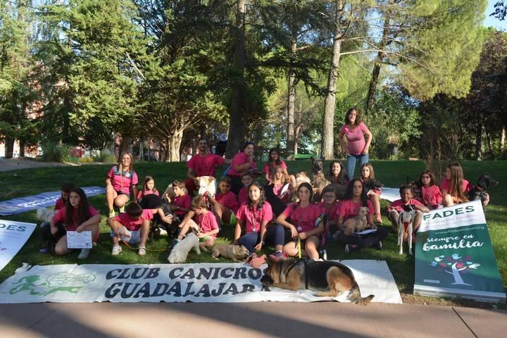 Nuevo éxito del Campamento de Verano de Canicross en Guadalajara