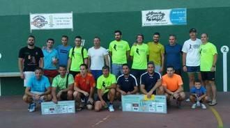 Disputada final en el II Torneo de Frontenis celebrado este sábado en El Casar