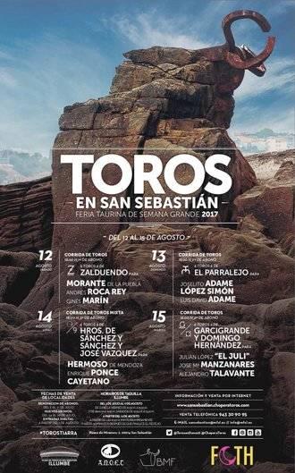 Comienza la Semana Grande de San Sebastian con Enrique Ponce, Morante de la Puebla y Talavante como protagonistas