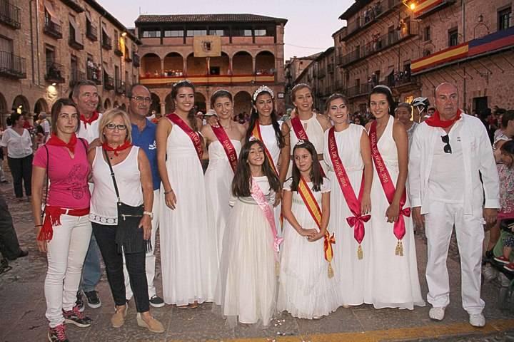 Todo preparado para las fiestas de San Roque y de la Virgen de la Mayor en Sigüenza