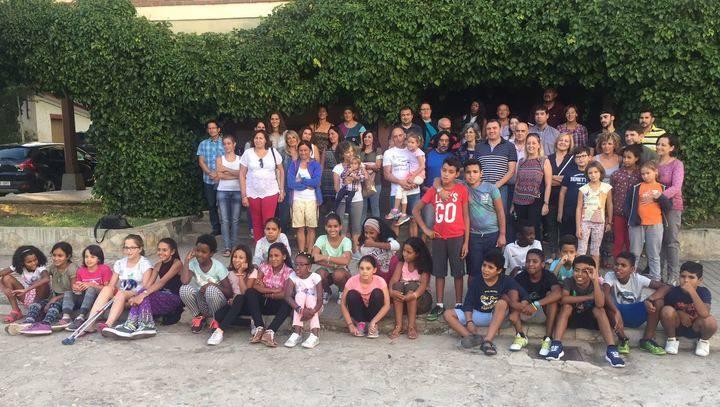 Diputación acoge la fiesta de despedida a los niños saharauis de 'Vacaciones en Paz 2017'