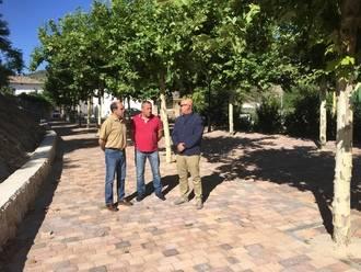Diputación concluye tres proyectos de obra de renovación de redes y pavimentación en Valdeconcha, Centenera y Lupiana
