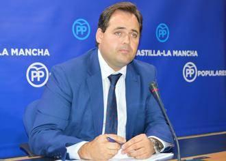 """Nuñez lamenta que """"el pacto de la vergüenza entre Page y Podemos lleve a Castilla-La Mancha a situaciones antidemocráticas"""""""