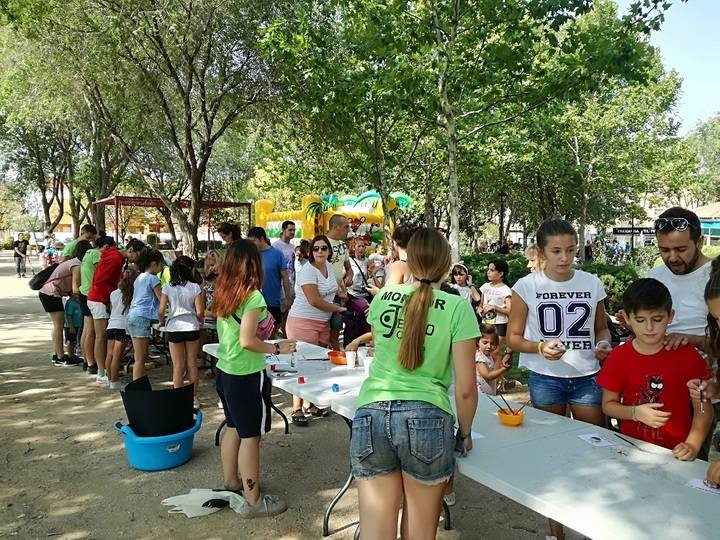Éxito de participación en la feria infantil celebrada en Alovera