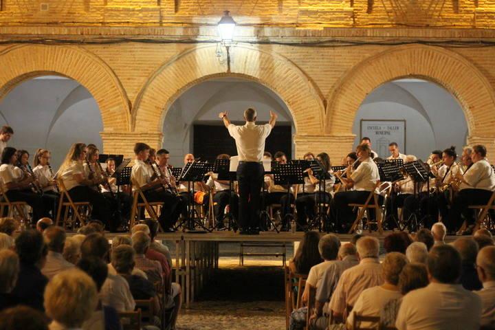 El concierto de verano de la Banda de Música de Pastrana preludia las fiestas de la Virgen de la Asunción