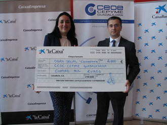 CaixaBank y CEOE-CEPYME Guadalajara potencian el sector empresarial en Guadalajara