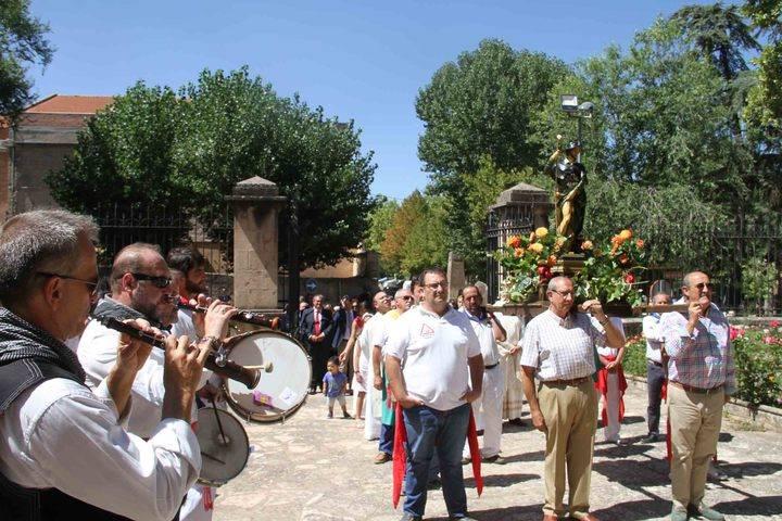 Sigüenza honró a San Roque, el patrón de la ciudad