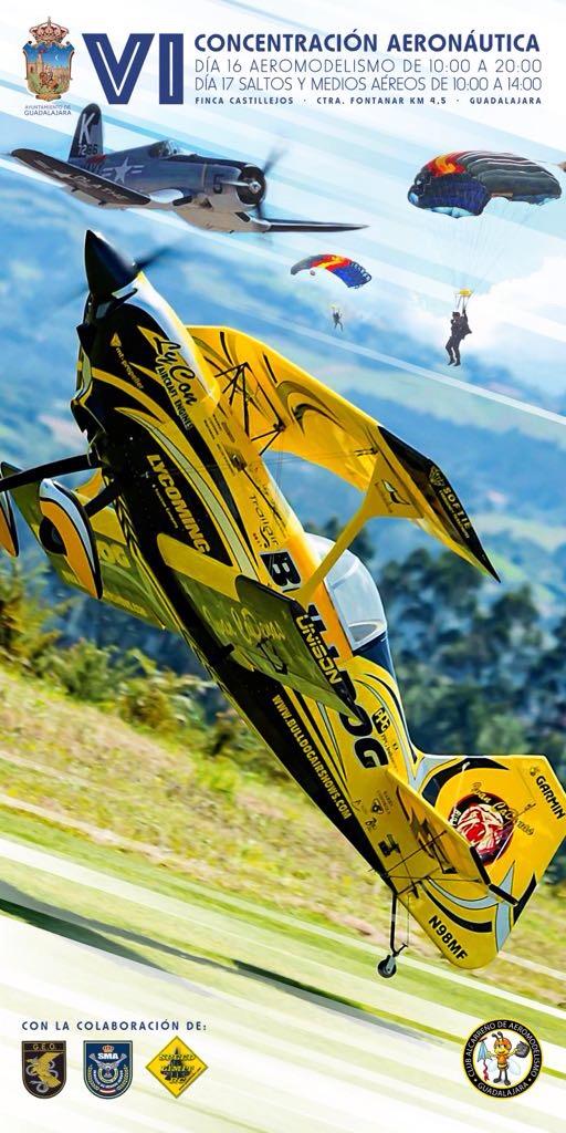 La Finca de Castillejos acogerá el Festival de Aeromodelismo del día 17