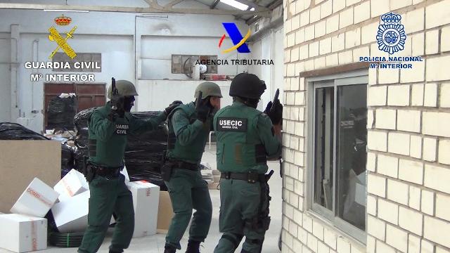 Desarticulado en Guadalajara parte de un grupo criminal dedicado al cultivo ilegal indoor de marihuana para su exportación a Reino Unido