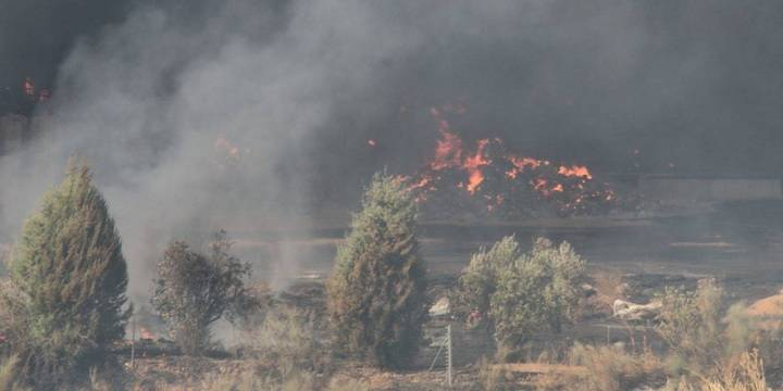 Reclamarán con una Concentración, más limpieza y más información sobre el incendio de Chiloeches