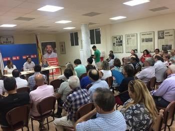 """Blanco se compromete a visitar una agrupación socialista cada semana """"para reforzar la base del partido en Castilla-La Mancha"""""""