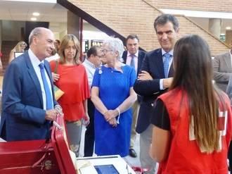 Latre asiste a las inauguraciones de las exposiciones de las Ferias y Fiestas de Guadalajara