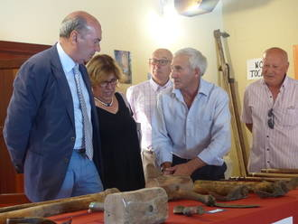 José Manuel Latre asiste al acto homenaje a los mayores en el municipio de Ablanque
