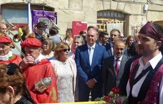 Latre participa en las fiestas patronales de Molina de Aragón en honor al Cristo de las Victorias