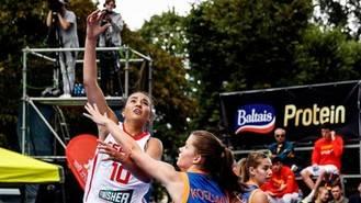 La alcarreña Laura Prats con billete al Europeo de Baloncesto 3X3 en Hungría