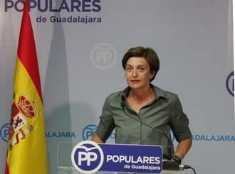 """Ana González: """"¿Qué le hemos hecho en Guadalajara? ¿Por qué nos trata como si fuéramos una provincia de quinta categoría?"""" pregunta a Page"""