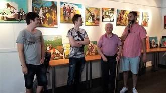 Lorenzo Martínez descubre a los 94 años la pasión por la pintura a través del envejecimiento activo