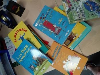 El colegio de Yebes y las bibliotecas promueven una campaña de donación para la biblioteca escolar