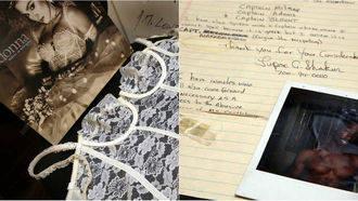 Un juez paraliza la subasta de objetos íntimos de Madonna