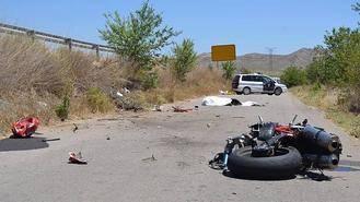 Muere un motorista tras colisionar con un vehículo en la N-322 en Fuentealbilla