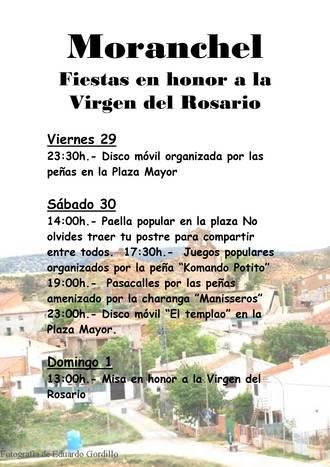 Moranchel celebra la Virgen del Rosario