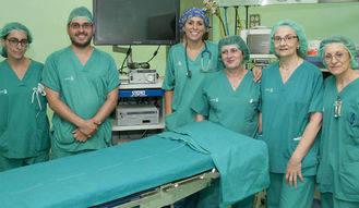 El servicio de Otorrinolaringología del Hospital de Guadalajara interviene una fístula nasal de líquido cefalorraquídeo