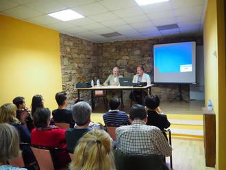 Marcos Nieto presentó 'Santa Librada. Lo que se esconde detrás' en Sigüenza