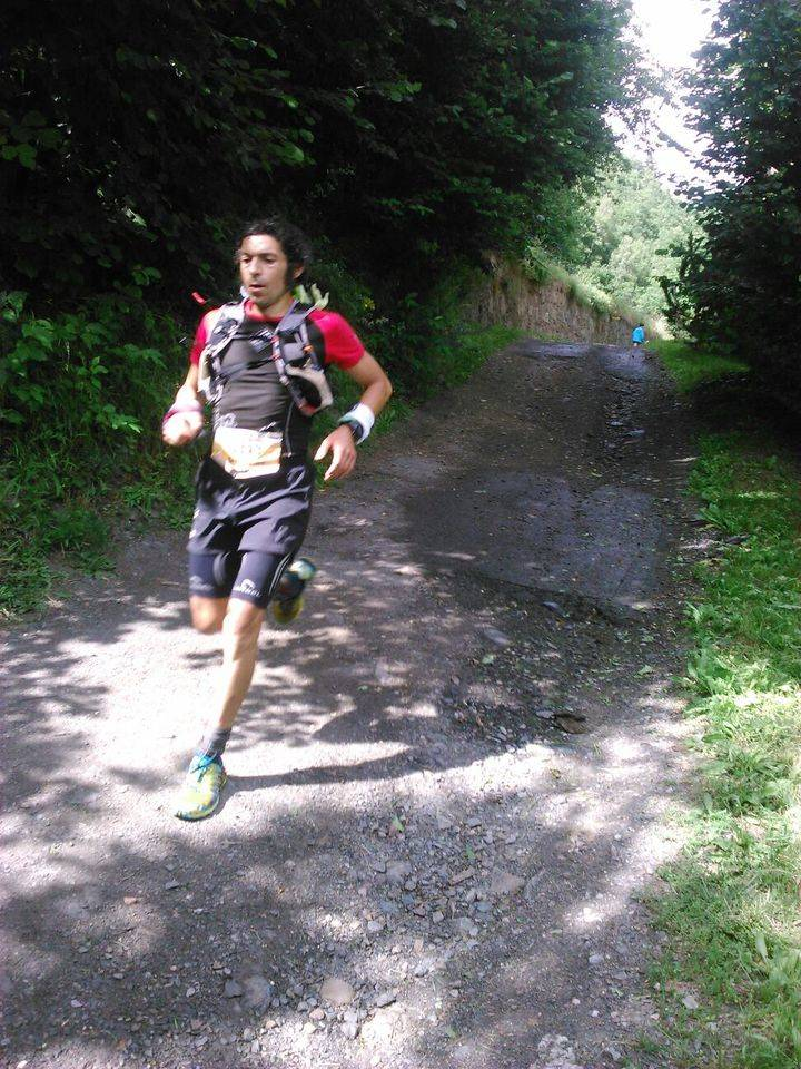 El corredor alcarreño Sergio Tejero, podium de la Mitic de Andorra