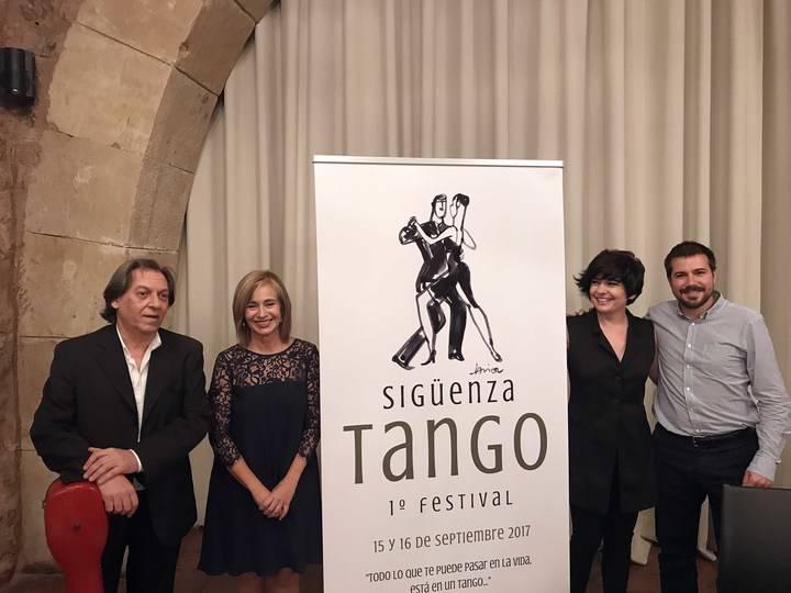 Anoche dio comienzo el I Festival de Tangos de la Ciudad de Sigüenza