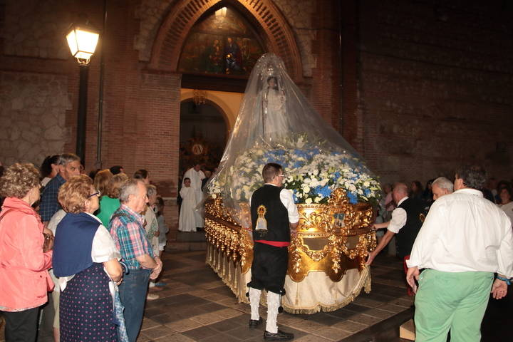 Guadalajara acompaña a Nuestra Señora la Virgen de la Antigua en su traslado a la Iglesia de San Francisco