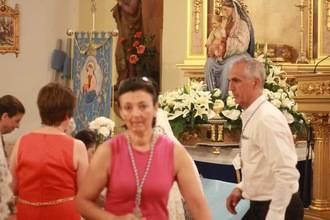 Quer ha celebrado este fin de semana su fiesta patronal de la Virgen Blanca