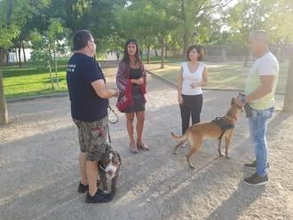 Ciudadanos Azuqueca pide a Blanco que cumpla las mociones y dé uso a la unidad canina en las ferias