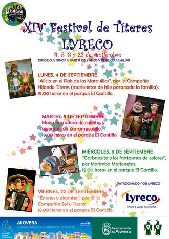 XIV Festival de Títeres Aloverano en la Biblioteca Municipal