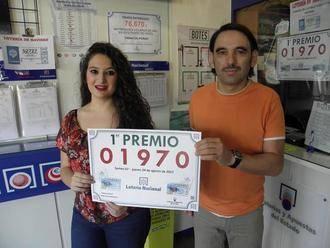 Un primer premio de la Lotería Nacional del jueves cae en la Administración de Pozo de Guadalajara