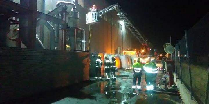 Segundo incendio en una planta de reciclaje de Chiloeches con sólo unas horas de diferencia