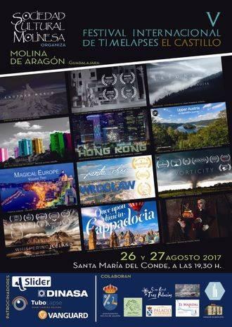 Molina de Aragón acoge este fin de semana el único festival de timelapses del mundo