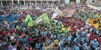 Las peñas de Guadalajara estallaron en Ferias