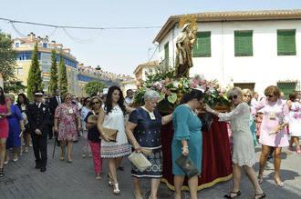 Broche de oro a las fiestas de la Virgen del Carmen de Alovera