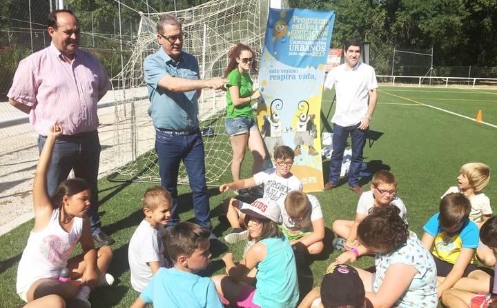 Cerca de 800 niños de 17 municipios de la provincia participan en el programa estival de educación ambiental